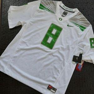 Nike team Oregon Jersey #8 new size xl